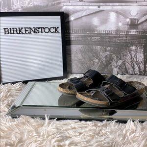 Birkenstock Black Strappy Sandal Size 40